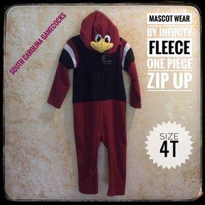 ❤️3/$15 Mascot Wear SC Gamecocks fleece jammies